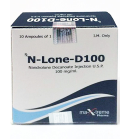 Maxtreme N-lone-d100 (Nandrolone Decanoate)